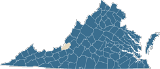 Map of Craig County